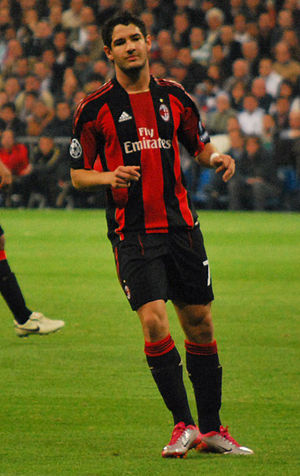 Alexandre Pato - Pato playing for Milan in 2010