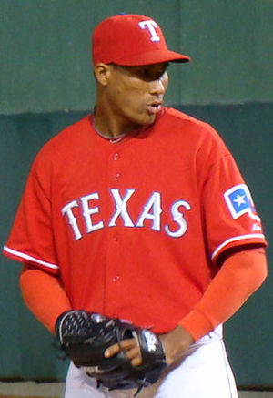 Alexi Ogando - Ogando with the Rangers in 2010