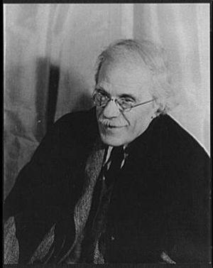 Aaron Copland - Alfred Stieglitz in 1935