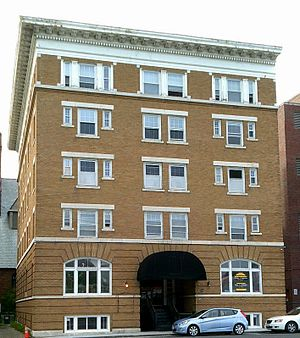 Allen Hotel - Image: Allen Hotel in Pittsfield, Berkshire County