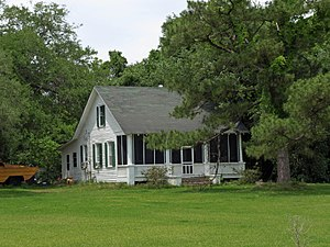 National Register of Historic Places listings in Baldwin County, Alabama - Image: Allen House Bon Secour May 2013 1