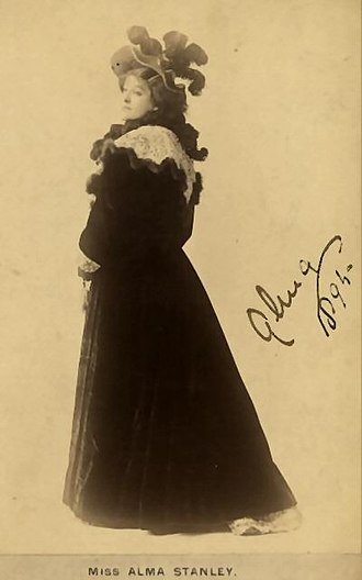 Alma Stanley - Alma Stanley, 1894