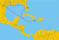 Alonso de Pineda-mapa ekspedycji.png