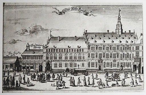 Altes Rathaus-um 1700