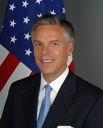Jon Huntsman Jr. - Huntsman's official portrait