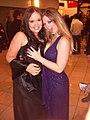 Amber Peach, Sunny Lane at 2007 AVN Awards 1.jpg
