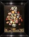 Ambrosius bosschaert il vecchio, natura morta con fiori in un vaso wan-li, 1609-10.jpg