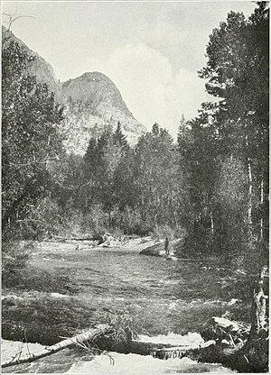 Mark Daniels - Photo of the Kern River near Funston Meadows in Sequoia National Park by Mark Daniels, 1916.