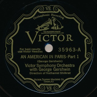 <i>An American in Paris</i> Symphonic tone poem by George Gershwin