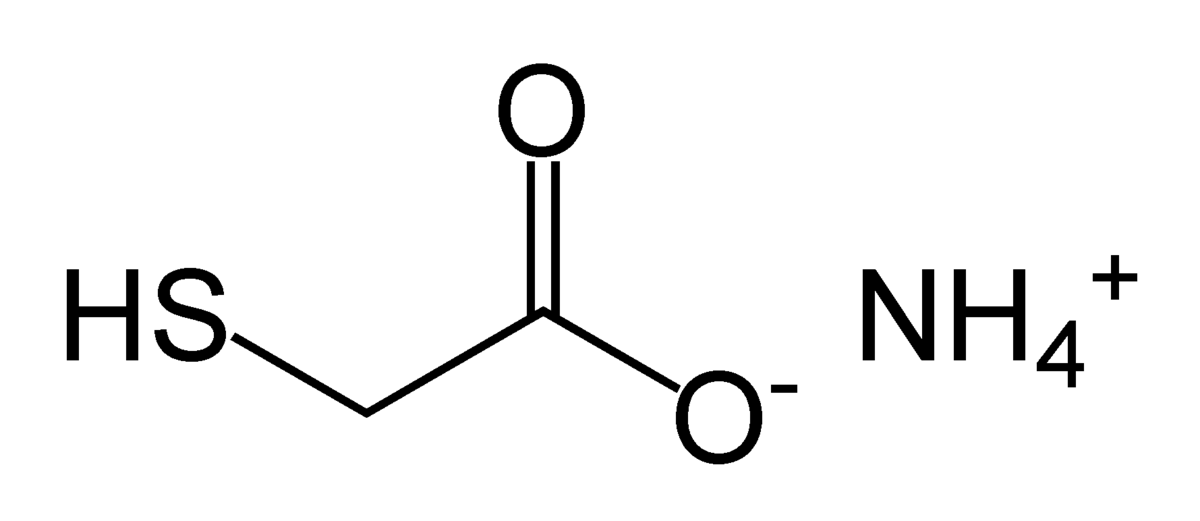 Ammonium Thioglycolate Wikipedia