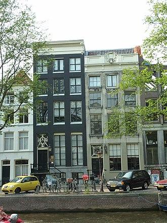 Friedrich Gutmann - Image: Amsterdam Herengracht 136 134