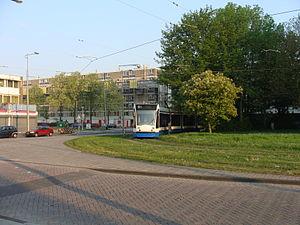 Amsterdam Dijkgraafplein Terminus Tram 17 20110424.jpg