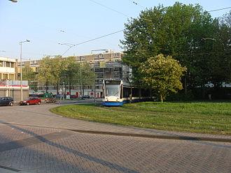 Dijkgraafplein - Image: Amsterdam Dijkgraafplein Terminus Tram 17 20110424