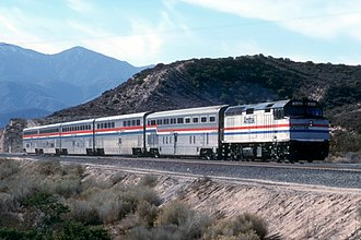 Desert Wind - The Desert Wind in the Cajon Pass in 1991