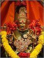 An idol in a Hindu Temple in Kuala Lumpur Malaysia.jpg