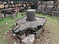 Ancient Shivling at Markanda temple.jpg