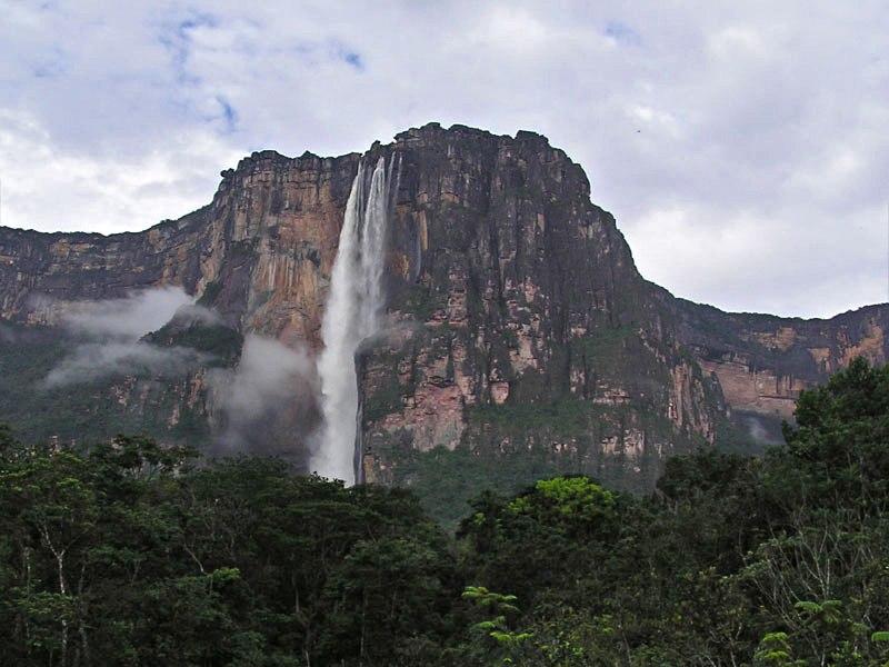 Angel falls in Venezuela 001