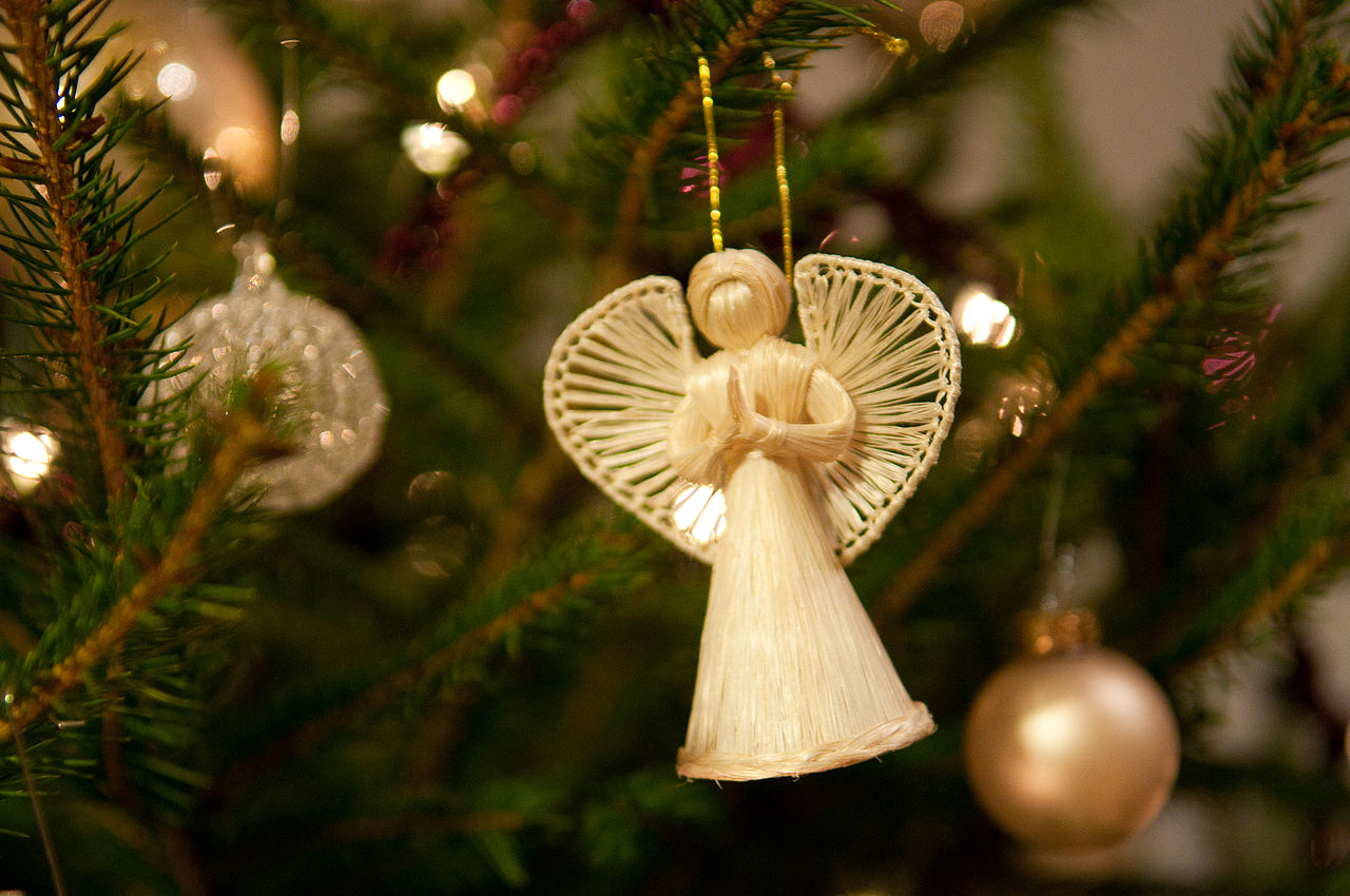 Image for Christmas Tree Angel Topper