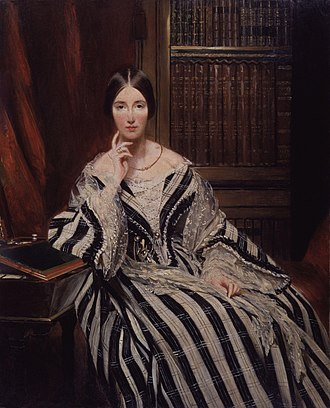Angela Burdett-Coutts, 1st Baroness Burdett-Coutts - Lady Burdett-Coutts, ca. 1840