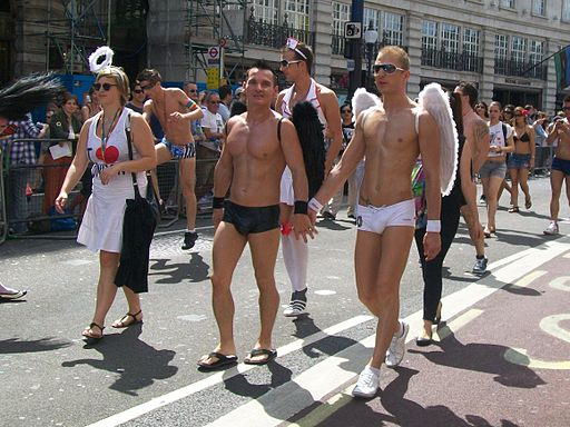 Angels at Pride London 2010