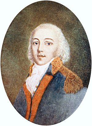 Angus McDonald (Virginia militiaman) - Portrait of Angus McDonald