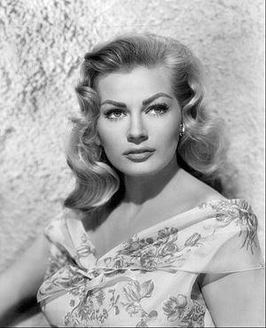 Anita Ekberg - Ekberg in 1956