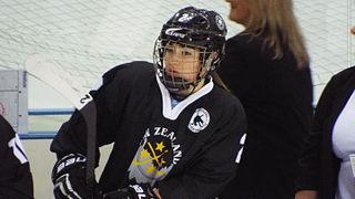 Anjali Thakker New Zealander ice hockey player (1993-)
