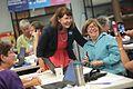 Ann Kirkpatrick with supporter (30382679860).jpg