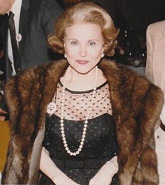 Ask Ann Landers - Eppie Lederer, a.k.a. Ann Landers, in Chicago, 1983