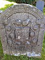 Ann Routledge, 1747, gravestone at Bewcastle Cumbria.jpg