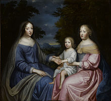 Anne of Austria with the Dauphin and Queen Marie Thérèse.jpg