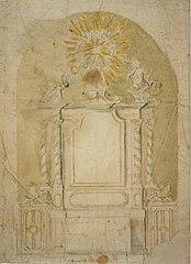 Design for a Baroque altar