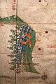 Anonimo portoghese, carta navale per le isole nuovamente trovate in la parte dell'india (de cantino), 1501-02 (bibl. estense) 03.jpg