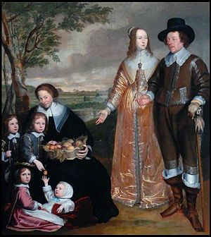 Anselm van Hulle - Family portrait group