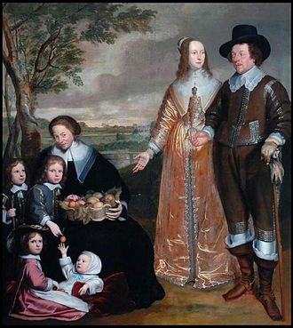 Bowes Museum - Image: Anselm van Hulle Family Portrait Group
