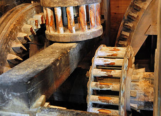 Lightfoot Mill - Image: Anselma Drive Train 1