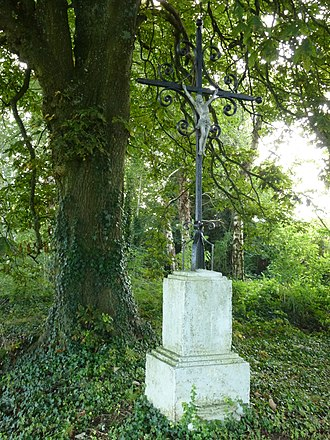 Antheny - Image: Antheny (Ardennes) croix de chemin