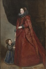 A Genoese Lady with Her Child