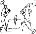 Anti-factionalist cartoon by unknown PCdR member, Gorikovo, Dec. 1931.png