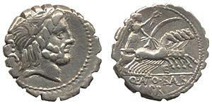 Denarius - Quintus Antonius Balbus (c. 82-83 BC)