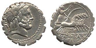 Denarius - Quintus Antonius Balbus (c. 82–83 BC)