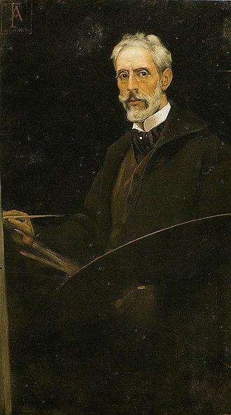 Antonio Fabrés - Self-portrait