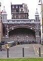 Antwerpen - Centers, historisch spoorwegviaduct Centraal station.jpg