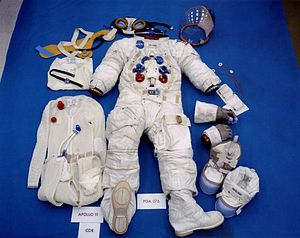 Apollo/Skylab A7L - Image: Apollo 11 space suit