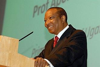 Prime Minister of Uganda - Image: Apolo Nsibambi