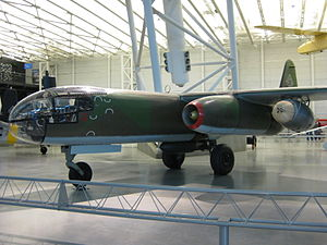 Arado Ar 234 at the Steven F. Udvar-Hazy Center.JPG