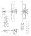 Arado S I 3 view drawing NACA Aircraft Circular No.4.png