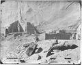 Archaeology of Southwestern U.S., View of ruins on bottom land, Canyon Del Muerto, Canyon de Chelly, Arizona. - NARA - 523839.tif