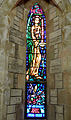 Archangel Michael stained glass - Anglican Cathedral of the Most Holy Trinity - Bermuda, 2014.JPG