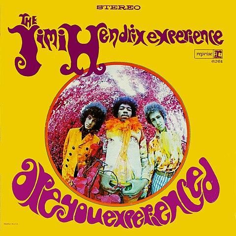 """Pochette d'un album de Jimi Hendrix """"Are you experienced ?"""""""